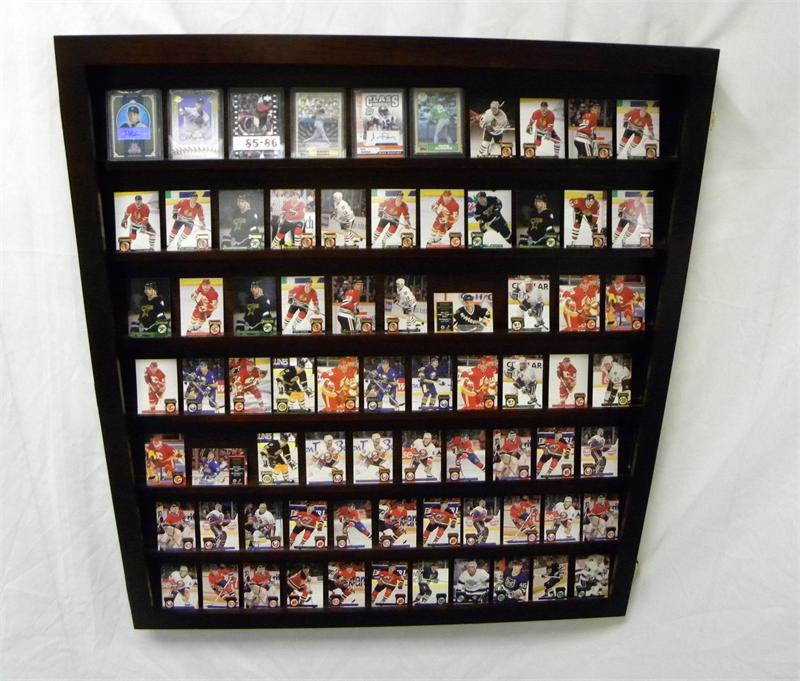 Monster Wallmount Deep Card Display Case For Ungraded Cards