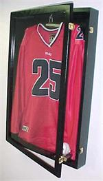 large jersey display case glossy black p302bj
