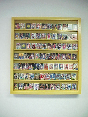 Monster Walmount Baseball Card Display Case Will Hold 50 100